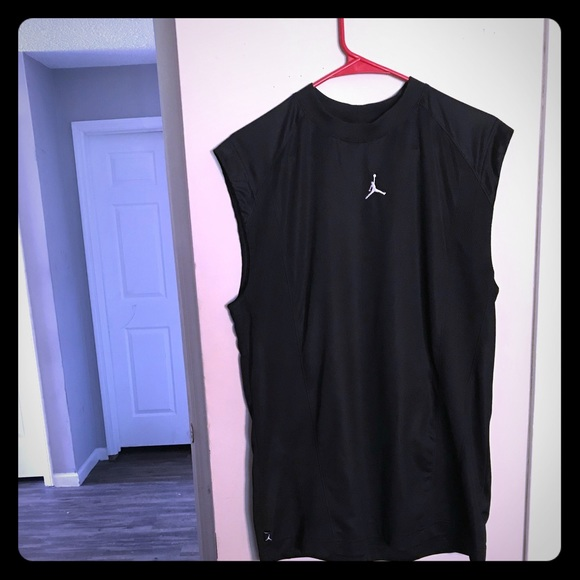 cd9aae3fd47 Nike Shirts | Sleeveless Air Jordan Training Top | Poshmark